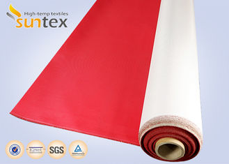 High Temperature Fire Resistant Fiberglass Fabric Durable Polyurethane Coated